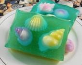 Soap - Tide Pools Soap - Glycerin Soap - Handmade Soap - Summer Soap - SoapGarden