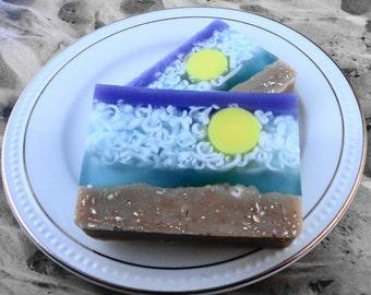 Soap - Island Breeze Soap Made with Goats Milk - Glycerin Soap - Handmade Soap - SoapGarden