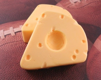 Soap - Cheese Head Hat Soap - Glycerin Soap - Exclusive To The Soap Garden - Party Favor
