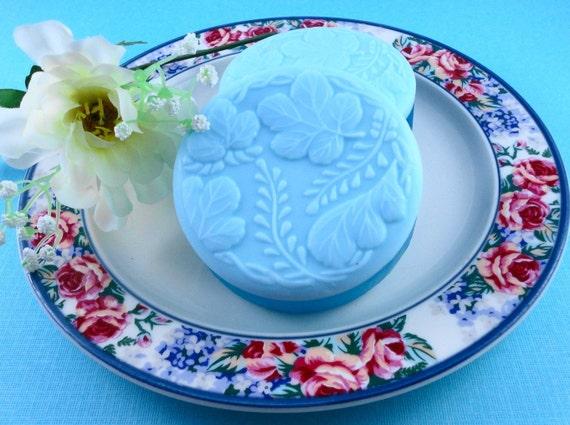 Soap - Blue Gardener's Grit Soap made with Shea Butter - Glycerin Soap - Handmade Soap - SoapGarden