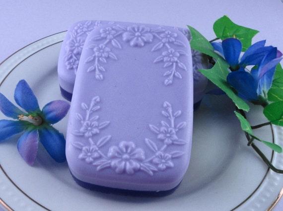Soap - Lavender Fields Soap -  Glycerin Soap - Handmade Soap - Spring Soap - Floral - SoapGarden
