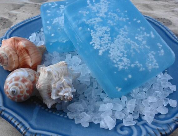 Мыло с морской солью своими руками