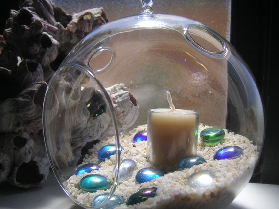 Hanging bubble glass globes terrariums centerpiece and