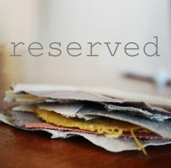 RESERVED LISITNG for sandra2209 custom note cards