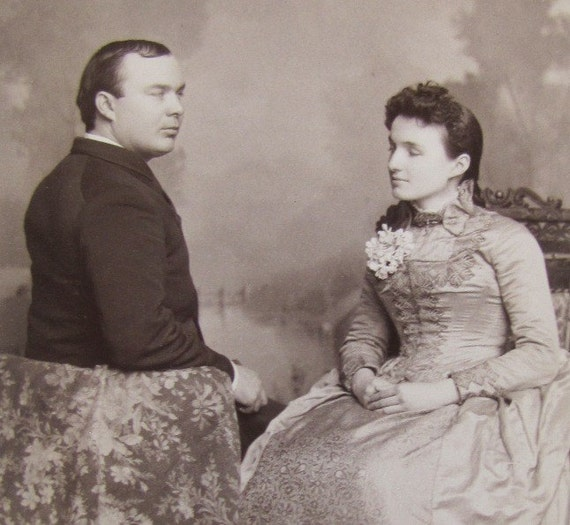 Strange victorian portrait antique cabinet card by for Odd victorian names