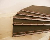 Olive Green Recycled Notebook