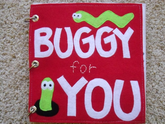 Felt Quiet Book- Buggy for You