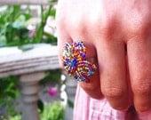 Flower Power Ring