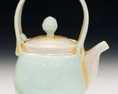 Soda Fired Porcelain Teapot