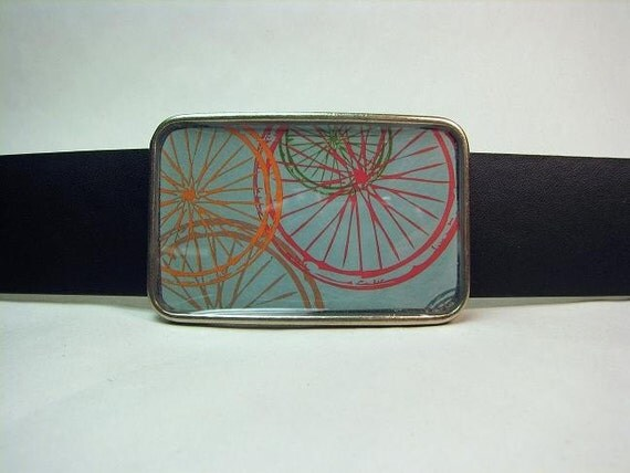 Cycle Cycle Belt Buckle