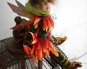 Flower Faeries - orange