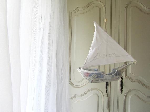 Sailing Ship in Papier Maché  -  dream