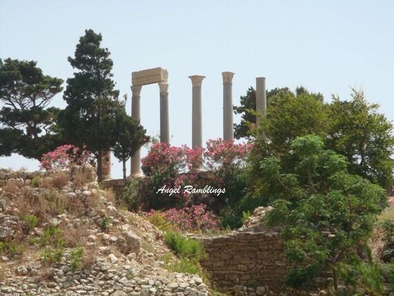 Roman Ruins - Lebanon History