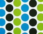 Polka Dot Curtain Panels Black and White Chartruese Turquoise Curtains Drapery Window Treatments Set Pair