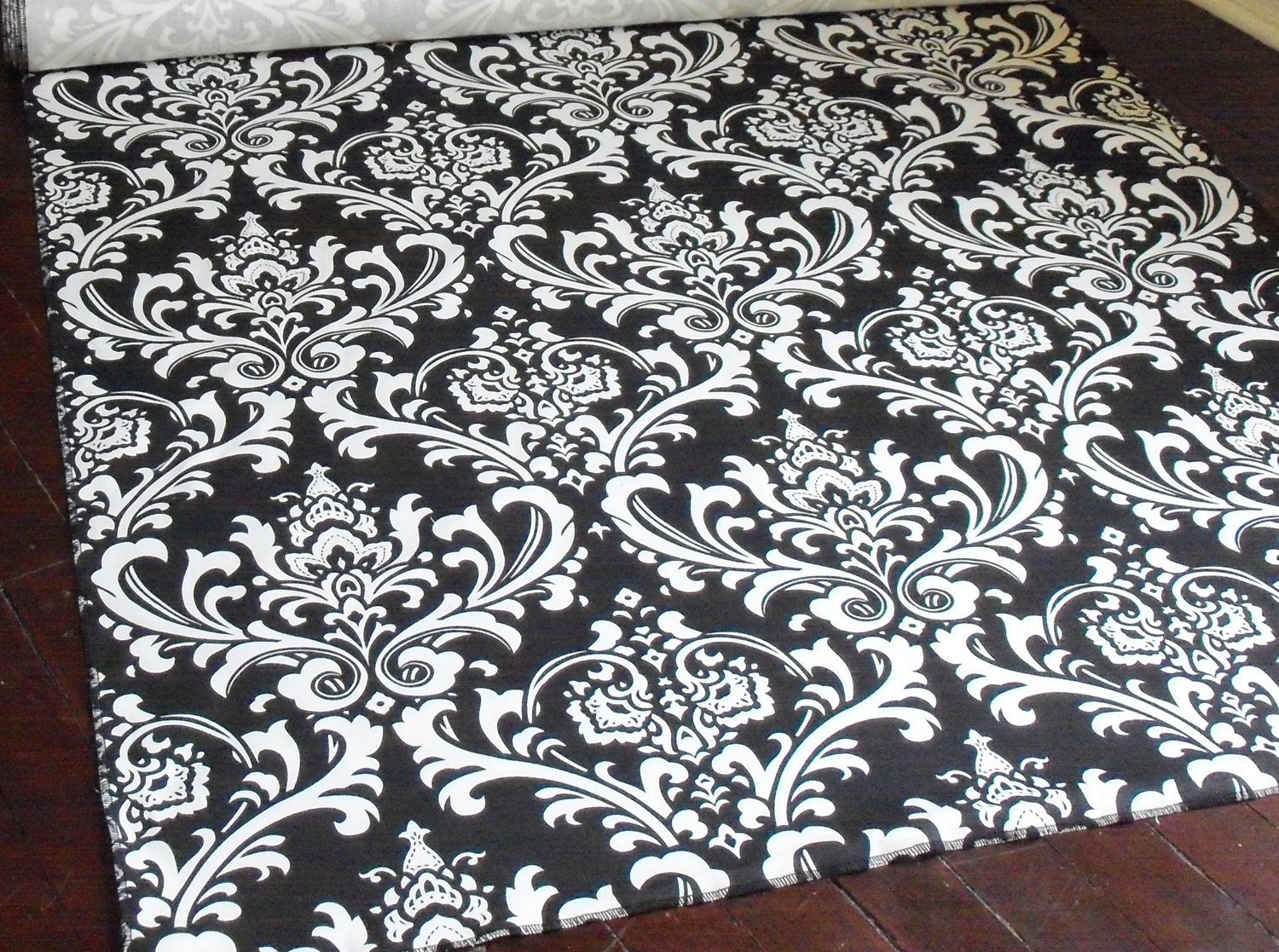 wedding aisle runner black and white isle by exclusiveelements
