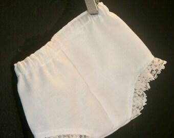 White Panties set of 2 fit American Girl Doll