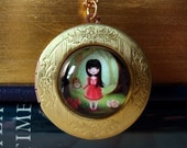 The Bright Forest locket