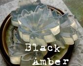 Black Amber // Gentle Hemp Soap Duo // Set of two soaps