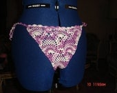Pineapple G-String- Shades of Purple