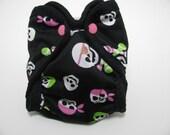 Baby Girl Pirates Newborn AI2 diaper