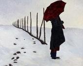 Silent Contemplation-Original Acrylic Painting