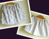 grey taupe modern sisters skirts - girls baby toddler - handmade boutique kids clothing by noah and lilahchristmasinjuly