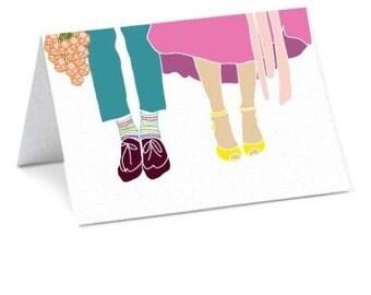 Wedding Shoes Card