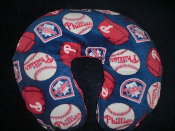 Philadelphia Phillies Baby - Boppy Cover - Boppy slipcover,Nursing pillow cover, boppy pillow cover, baby shower, gift, baseball, mlb