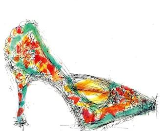 Shoe Obsession Print
