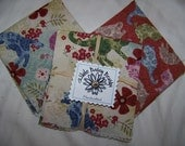 Everyday Cloth Napkins 8-Pack Floral Cats