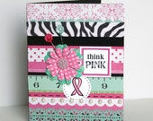 think PINK card - blank inside