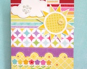 card: hello sunshine (encouragement - blank inside)