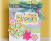 card: bloom (blank inside)