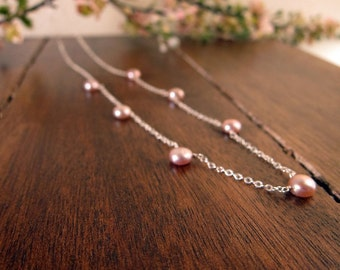 RTS Sweet Pea Pearl Necklace