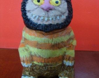 Wild Thing Keepsake Holder jar(functional-art sculpture)*Made To Order*