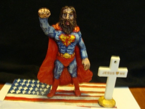 Super-Hero Jesus