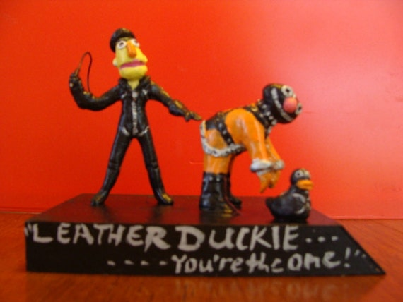 Leather Duckie