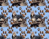 German Shepherd Dog fabric