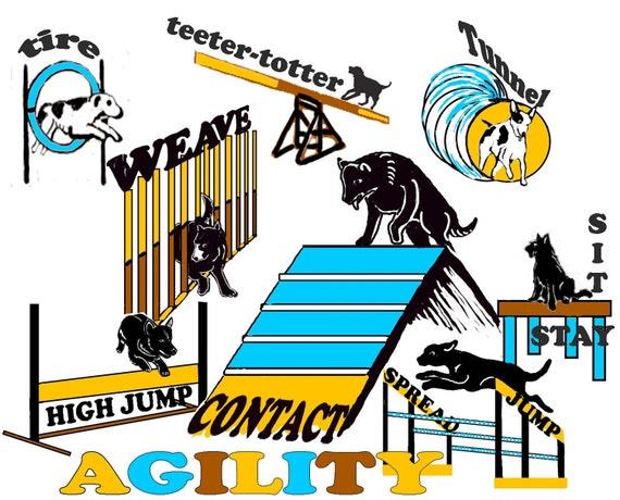 Dog Agility Fabric