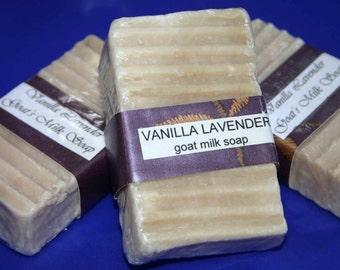 Vanilla Lavender Goats Milk Soap