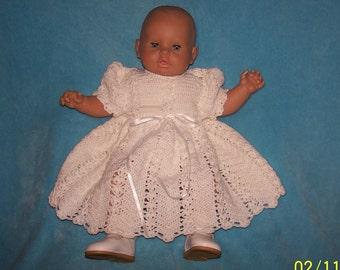 Infant Blessing Dress Christening Dress