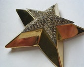 Vintage Brooch TANCER II Star Huge