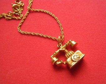 Telephone Necklace AVON