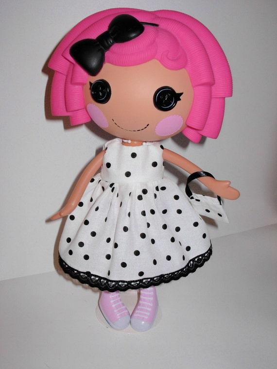 Lalaloopsy cute polka dress and  bag