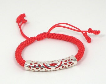 Money-bringer Red String Bracelet