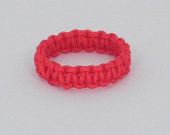 Chinese Good Luck Red String Ring