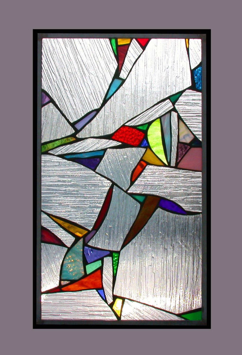 stained glass abstract tiles - photo #41