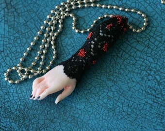 PENDANT Witches Lucky Hand one of a kind