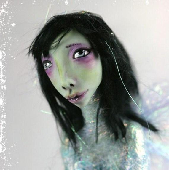 Art Doll OOAK Iridescent Moon Fairy