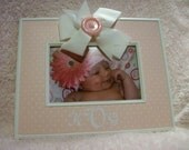 Personalized Decorative 4X6 Picture Frame